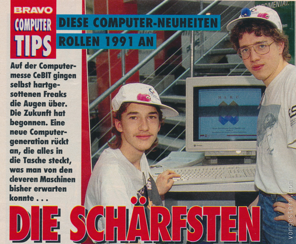 Die Schärfsten Maschinen 1991 Nahaufnahme
