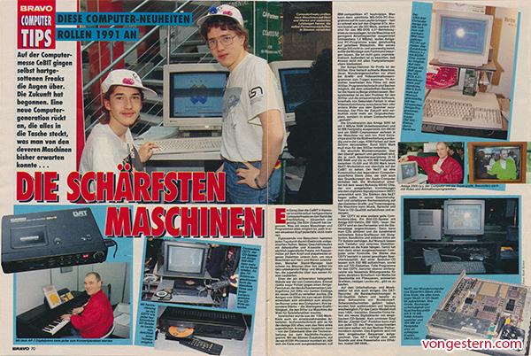 Die Schärfsten Maschinen 1991