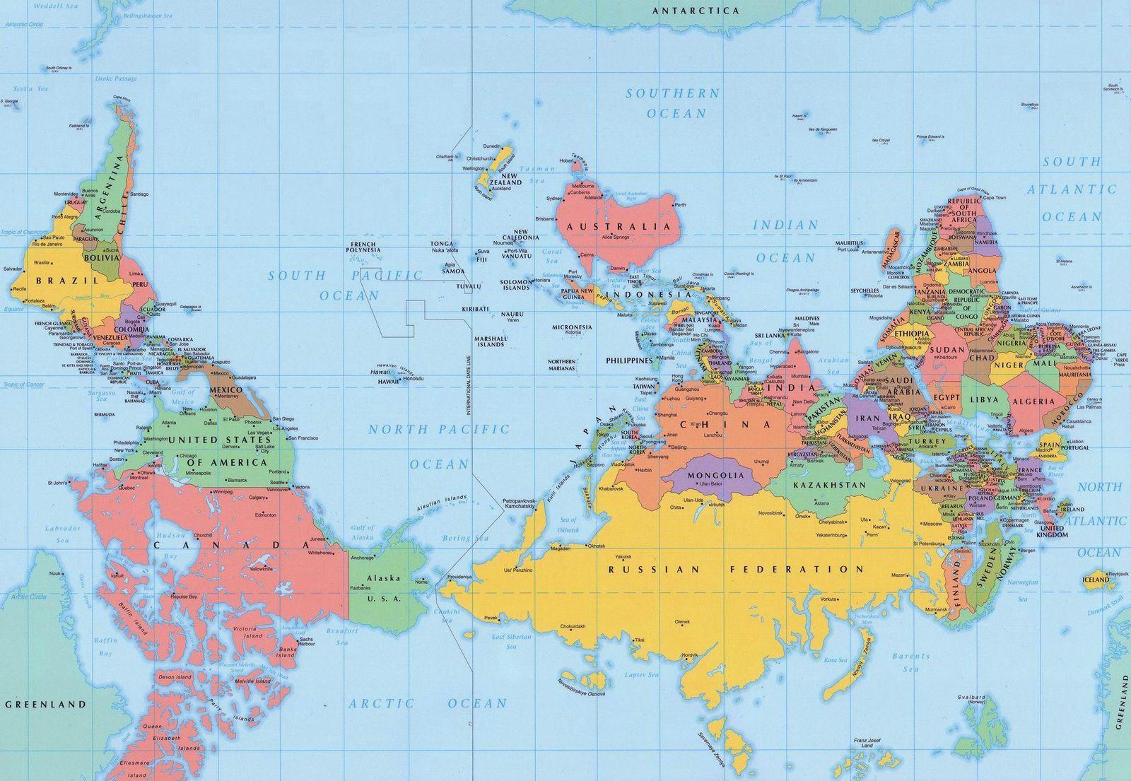 Magnetischer Polsprung in den nächsten Jahren – Weltkarte wird ...