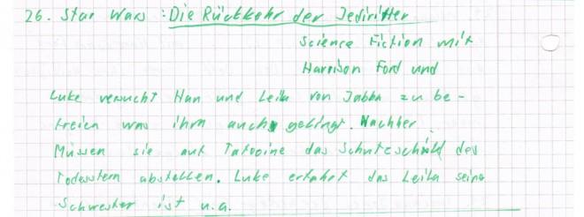 Phil-mbeschrieb Jedi-Ritter