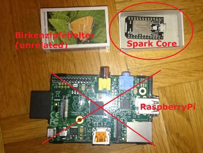 RaspberryPi-SparkCore