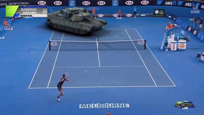 Tennispanzer
